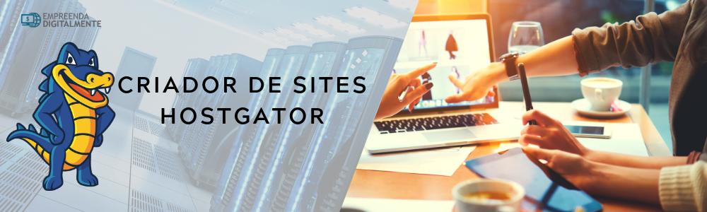 Criador de sites Hostgator