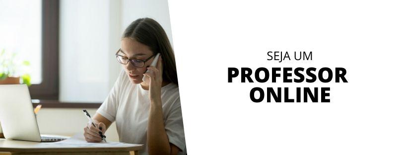 Seja um professor online