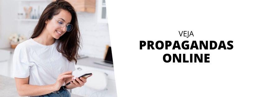 Veja propagandas online